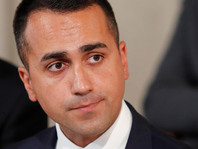 Italy's Di Maio says cutting number of MPs cannot wait: paper