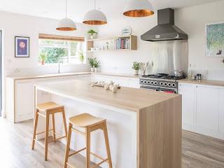dapur unik gaya skandinavia