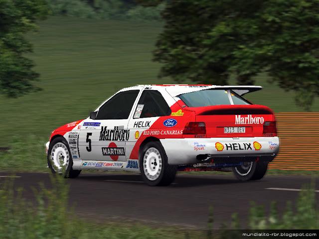 Monzon-Ford-Escort-Cosworth-Rally-Principe-Asturias-1995
