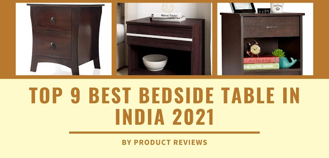 Top 9 Best Bedside Table in India 2021 | Modern night stand wooden tables for bedroom