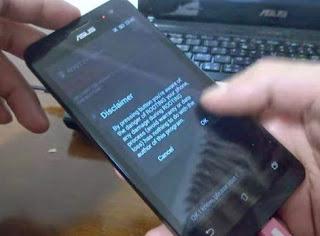 Cara Root Asus Zenfone 5 Versi Jellybean dan Kitkat Lengkap