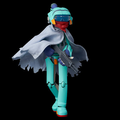 FLCL Canti Action Figures by 1000 Toys