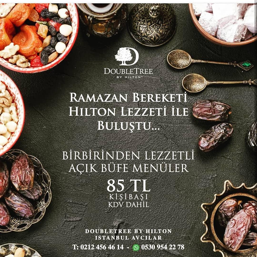 hilton avcılar restaurant avcılar iftar fiyatları avcılar iftar mekanları 2019 avcılar iftar yerleri
