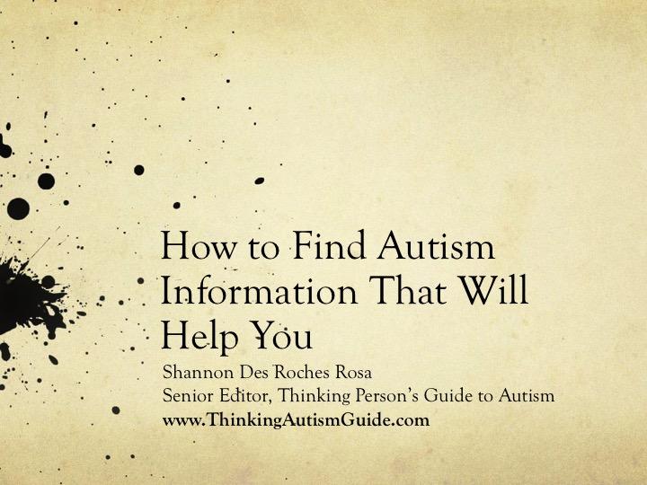 Please Stop Whitewashing Autism >> Squidalicious March 2017