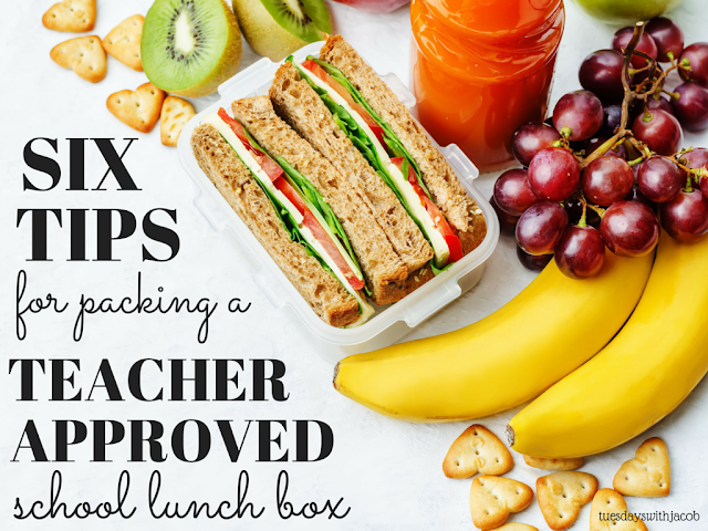 How to get an A+ in lunch box packing