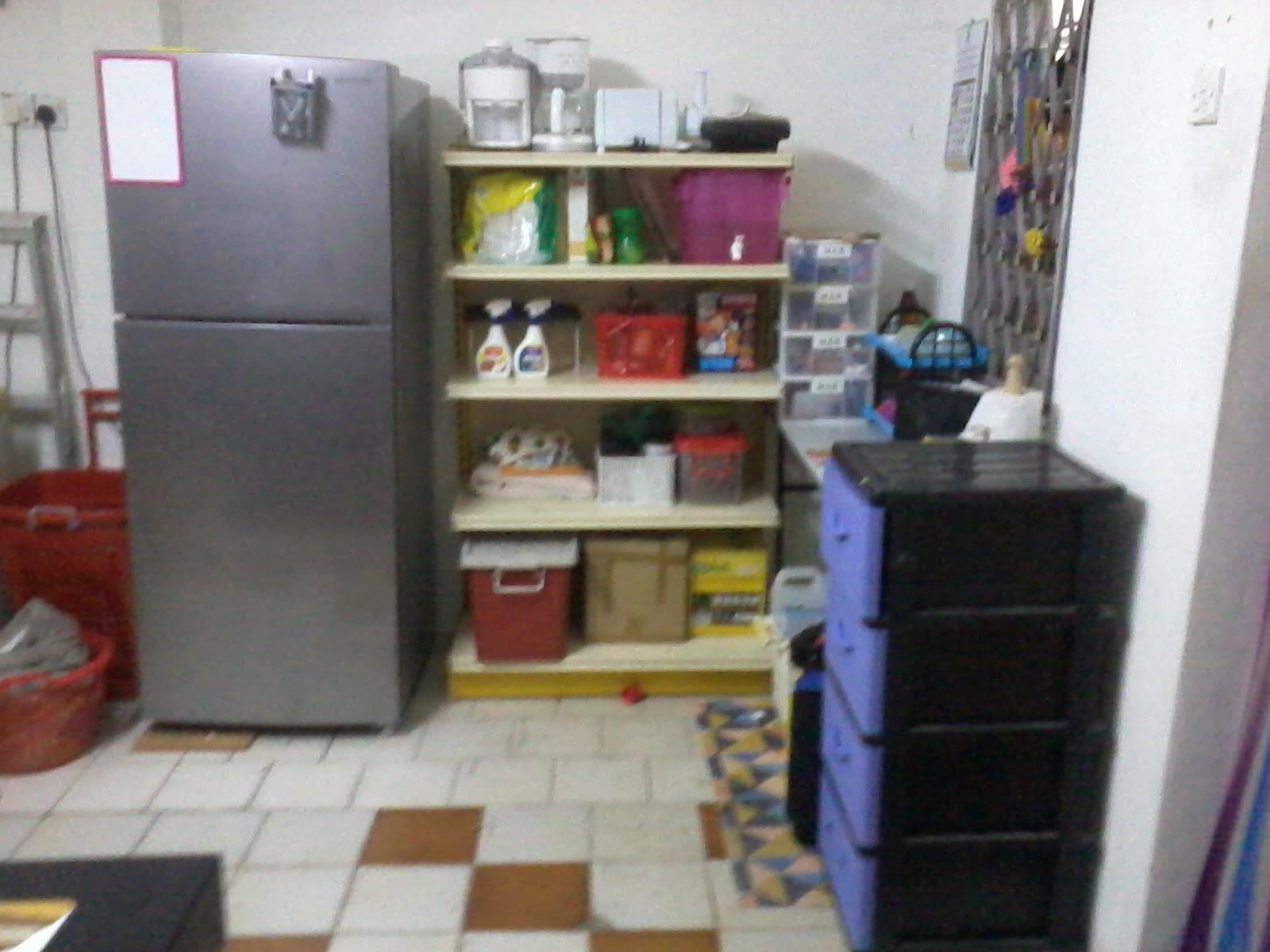 Susun Atur Dapur Kecil Tanpa Kabinet Kitchen