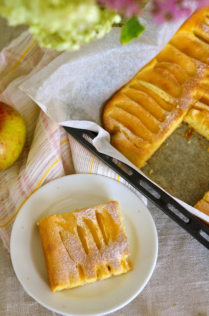 Širšių lizdas: Greitas obuolių pyragas Nr  3