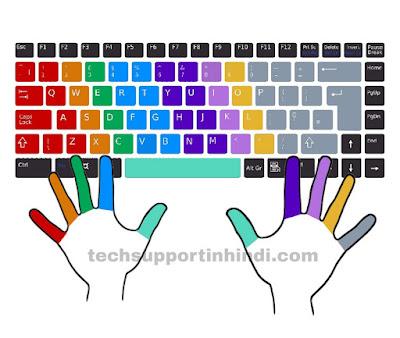 touch typing करना कैसे सीखें