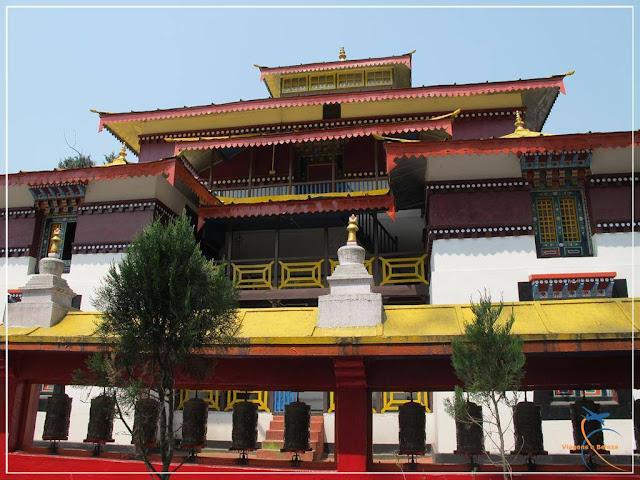Enchey Monastery - Gangtok  - Monastério Budista - Sikkim - Índia