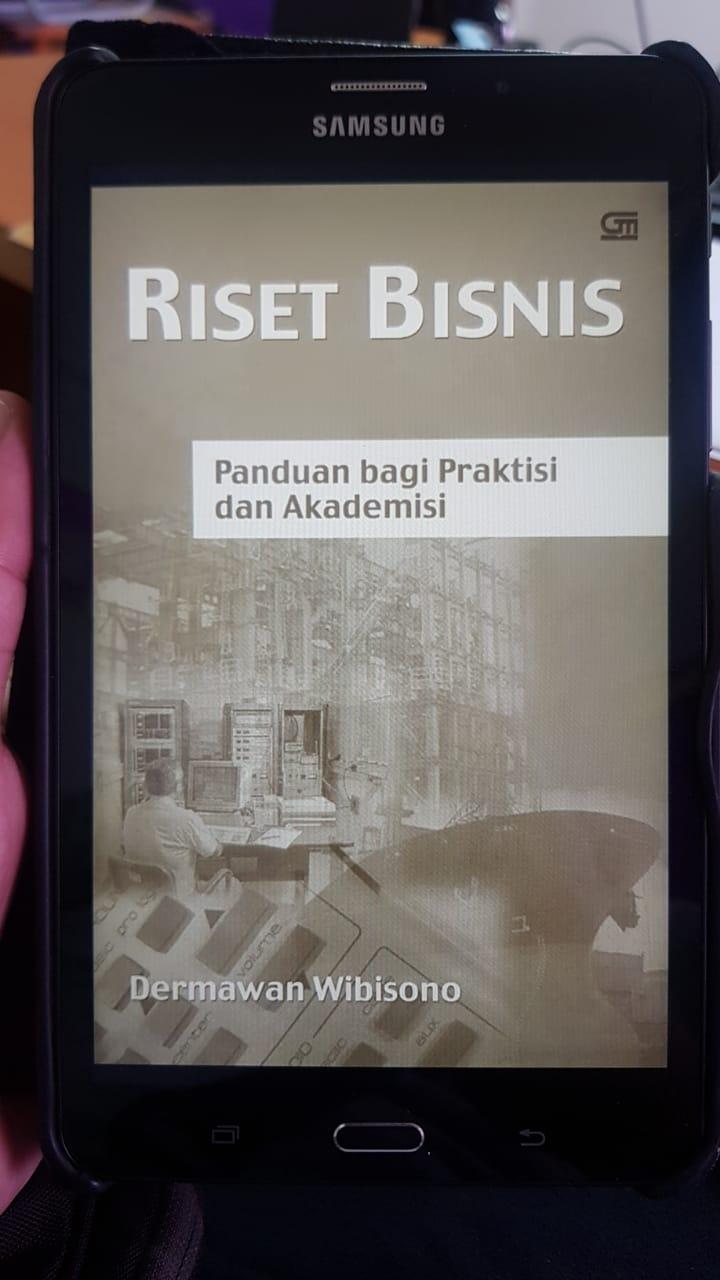 Buku Riset Bisnis - Dermawan Wibisono