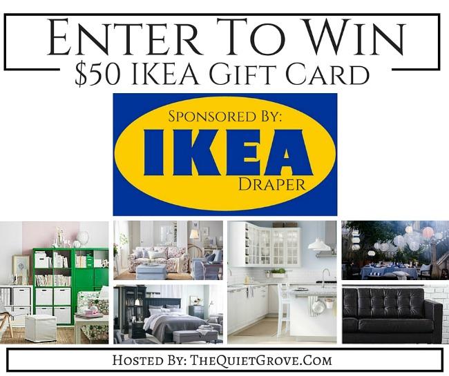 IKEA Draper gift card giveaway
