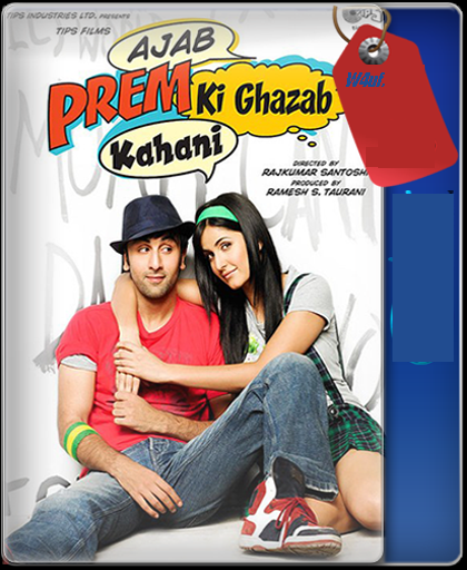 Ajab Prem Ki Ghazab Kahani 2009 Hindi Movie Download 480P BRRip 400MB