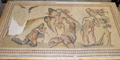 United States v. One Ancient Mosaic. Importer Restored Ancient Mosaic.  FBI Seized It.  Now U.S. Attorney Seeks Forfeiture.