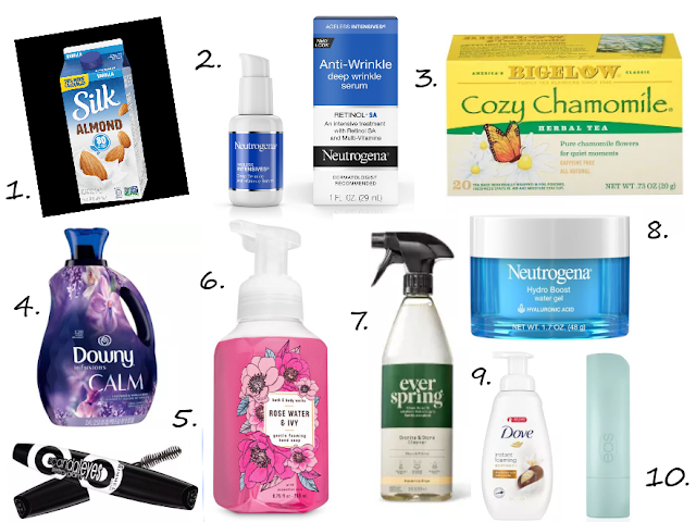 top ten beauty products; essential daily products; favorite products