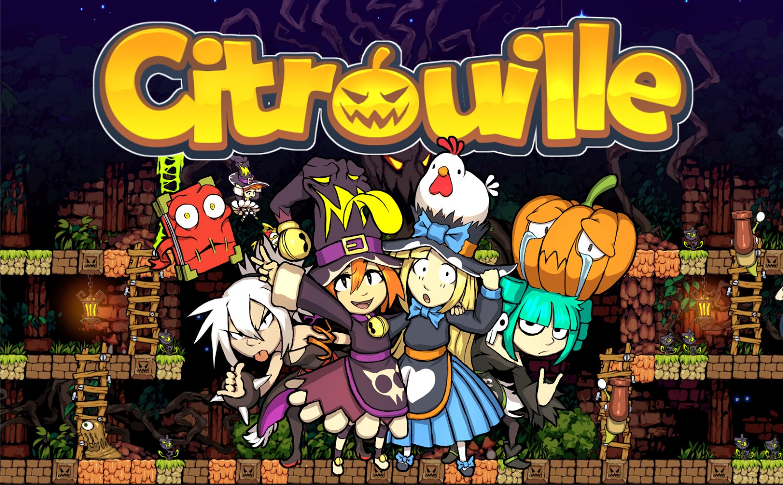 indie retro news citrouille a new retro style game coming soon to