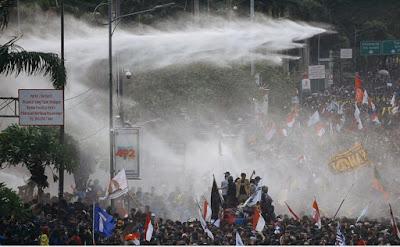 Aksi Unjuk Rasa (Demo Akbar) yang diikuti oleh Elemenmahasiswa RUU KUHP (27 September 2019)