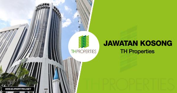 jawatan kosong terbaru TH Properties (Tabung Haji) 2020