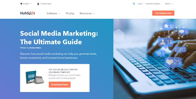 Social Media Marketing Guide by HubSpot