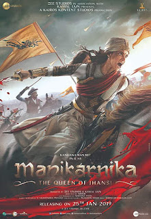 Manikarnika The Queen of Jhansi (2019) Full Movie Download Hindi 720p Bluray