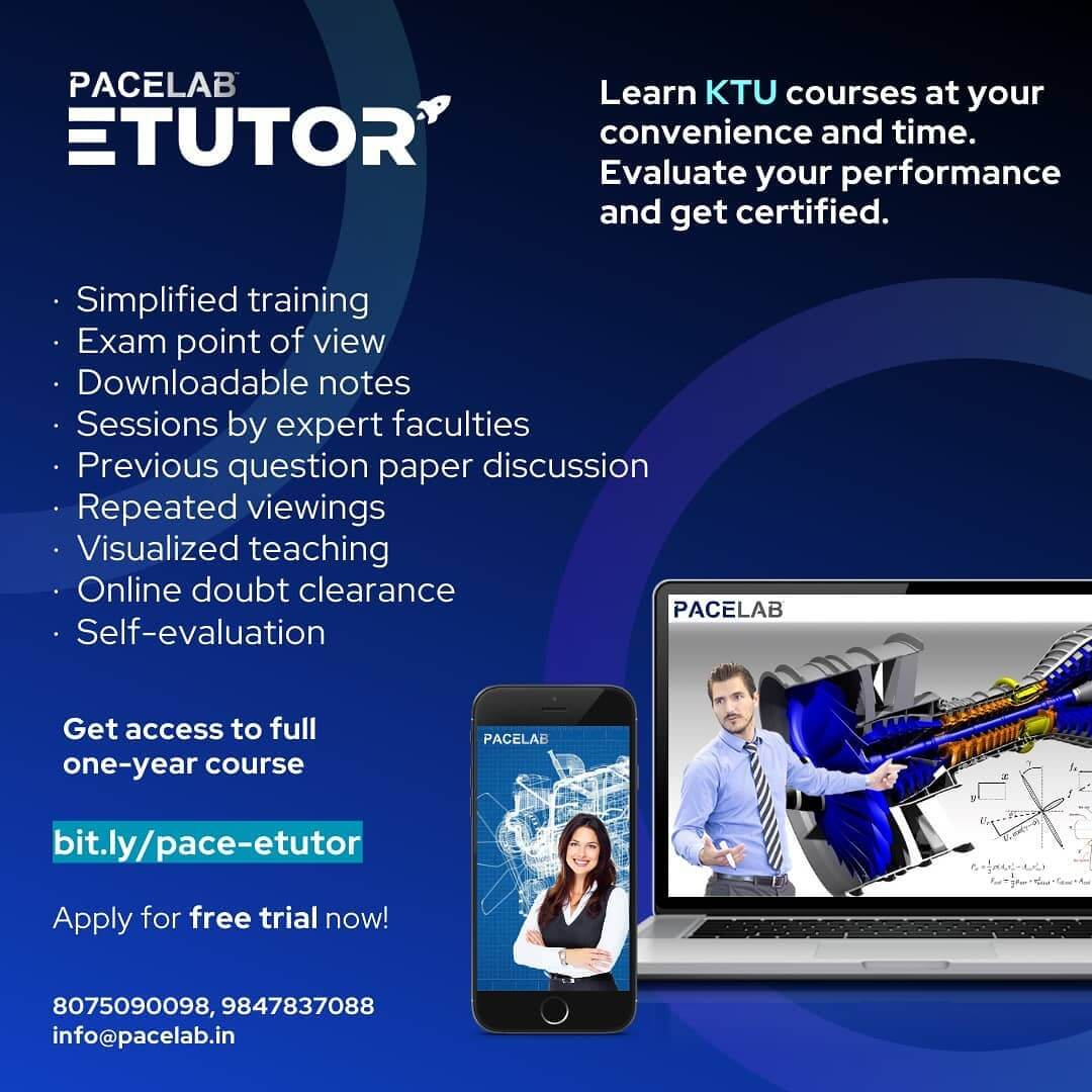 online pre-recorded KTU courses and score high in series and university exams