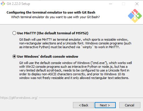 memilih terminal emulator