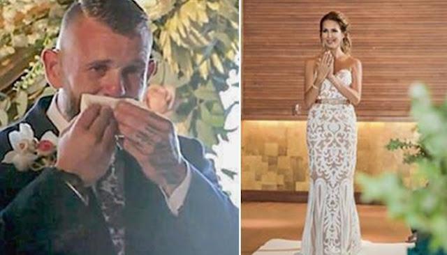 (Видео) Невеста на свадьбе «спела» глухому жениху песню о любви языком жестов, растрогав любимого до слёз