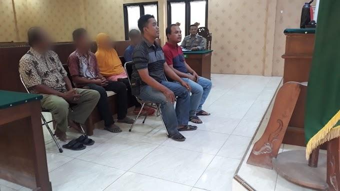 Empat Penjual Toak Yang Terjaring Dalam Operasi Pekat Jalani Persidangan Tipiring