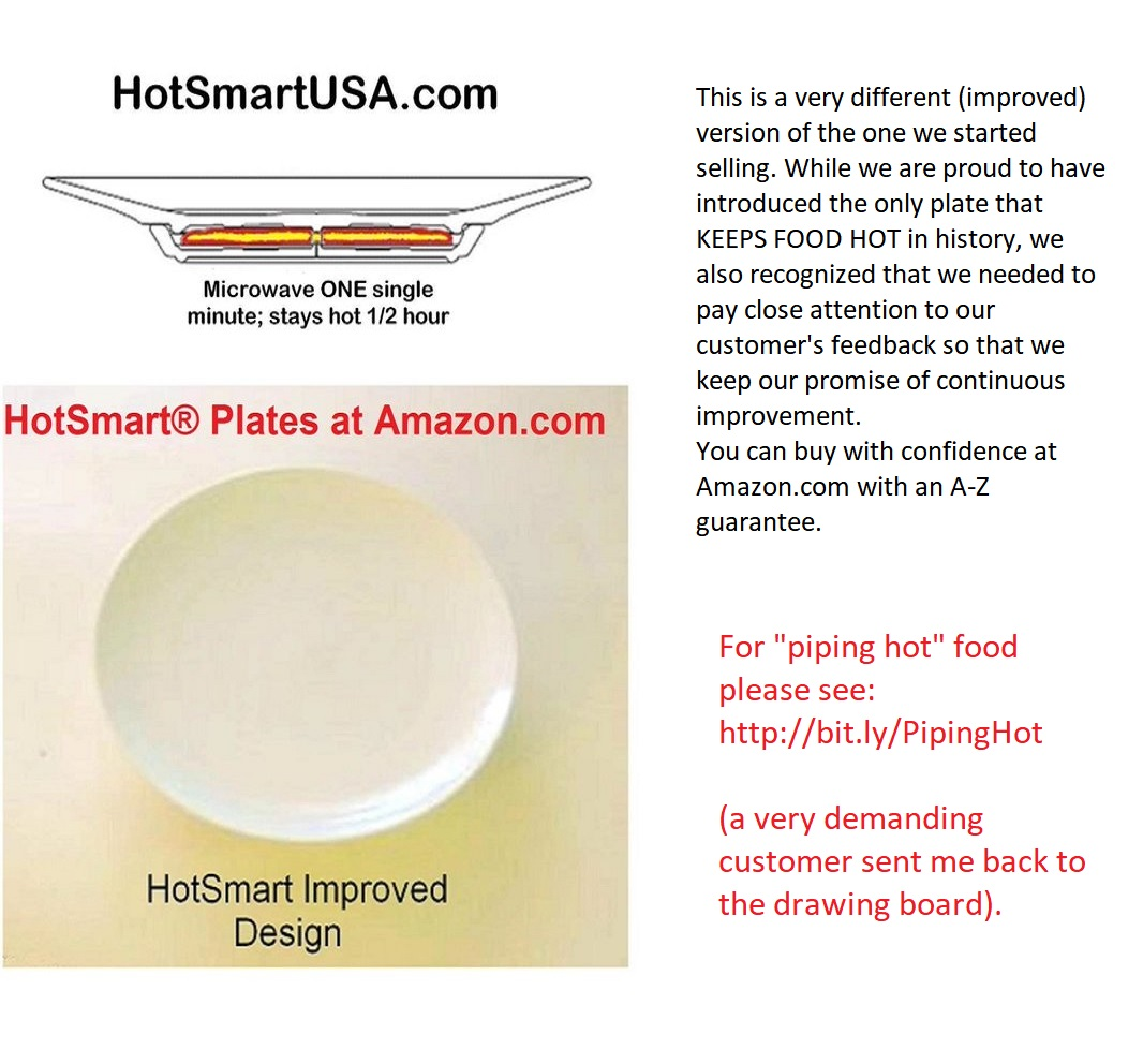 the plate shown is our first model of which we are proud we only sell an improved version now see below