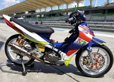Modifikasi Motor Jupiter Z Racing