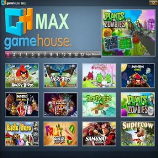 รวมเกมส์ฮิต Game House MAX ให้โหลด