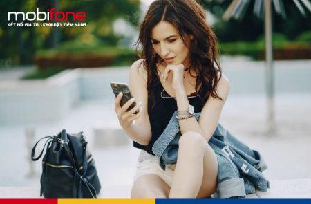 Khuyến mãi cho thuê bao đăng ký thông tin MobiFone qua mạng