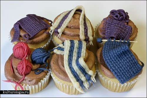 Como hacer Pastelitos para Crocheteras