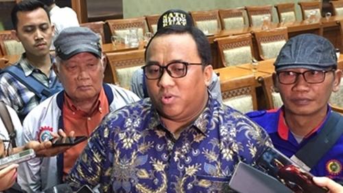 Presiden KSPSI Andi Gani Merapat Ke Istana Saat Ramai Reshuffle