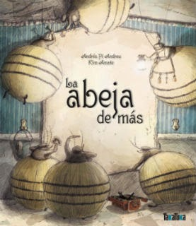 libro infantil La abeja de más