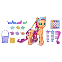 My Little Pony Sunny Starscout Rainbow Reveal Brushable