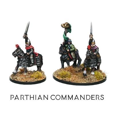 10mm Parthian Commanders