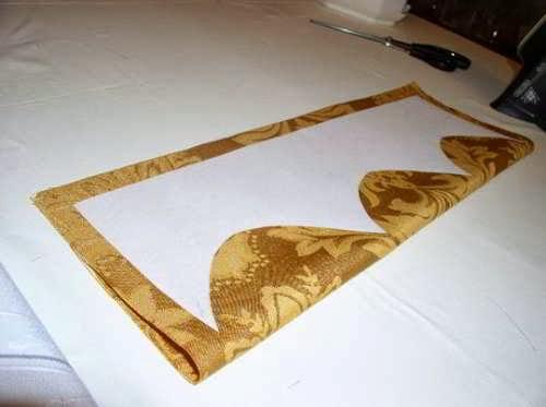 картинка жесткий ламбрекен на дублерине