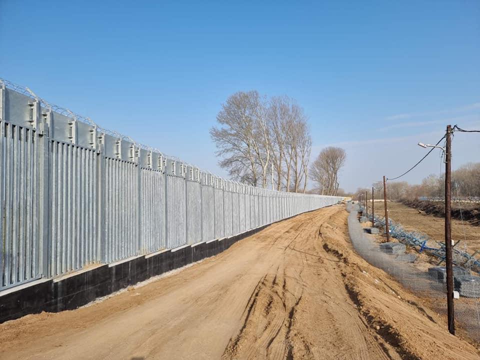 Προχωράει η κατασκευή του φράχτη στον Έβρο [ΒΙΝΤΕΟ]
