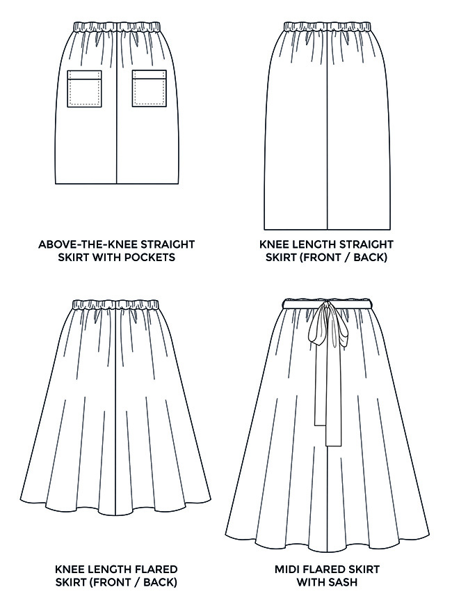 10 design hacks for the Dominique skirt