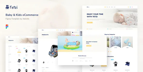 Best Baby & Kids eCommerce Figma Template