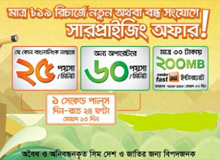 Banglalink New Connection Offer