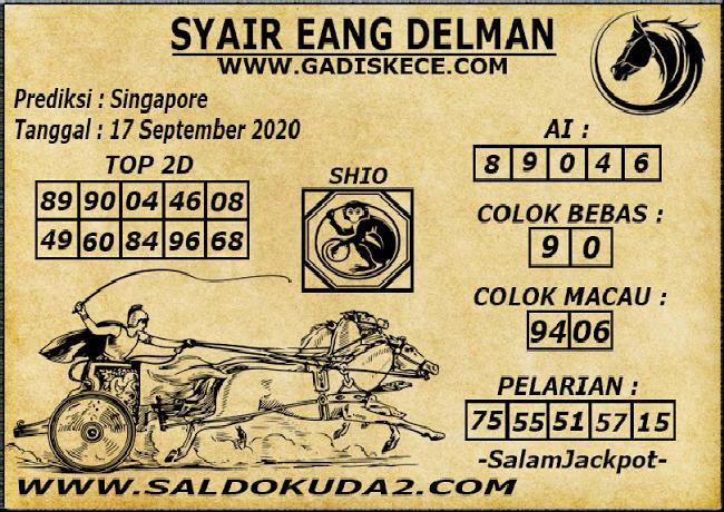 Kode syair Singapore Kamis 17 September 2020 117
