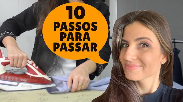 ORDEM perfeita para PASSAR CAMISA SOCIAL!