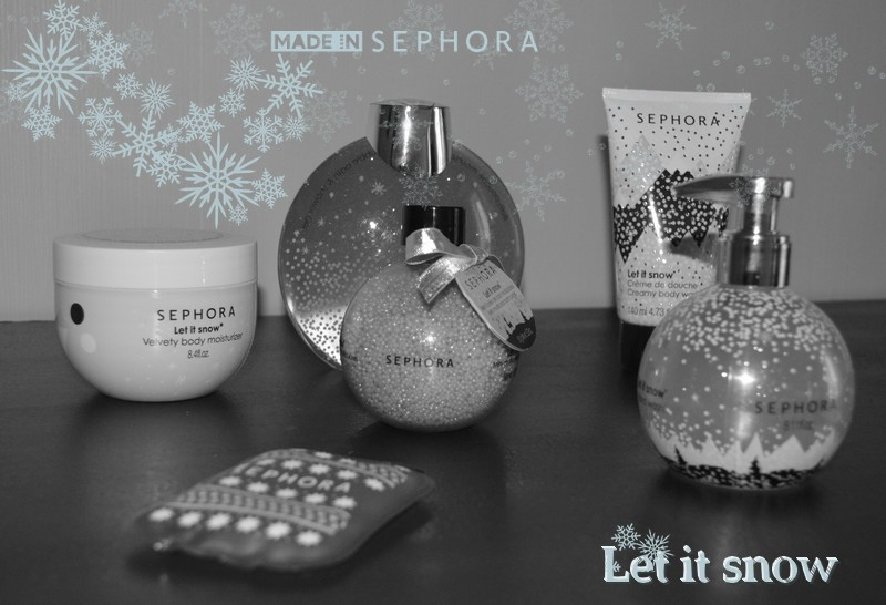 Sephora  Collection de Noël 2015 Let it snow