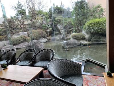 ホテル八田のロビー