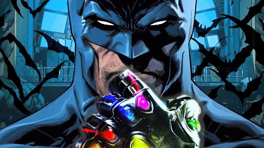 Batman, Infinity Gauntlet, DC, Comics, 4K, #6.1958