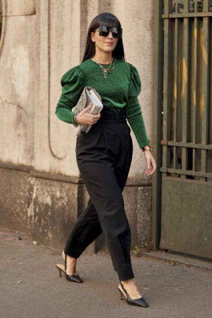Стильный образ модные брюки 3-1