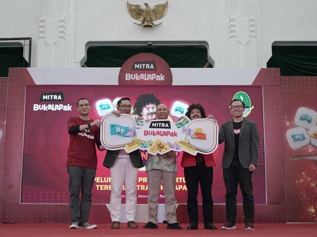 Mitra Bukalapak Mudahkan Akses Transaksi Online Warga Jawa Barat