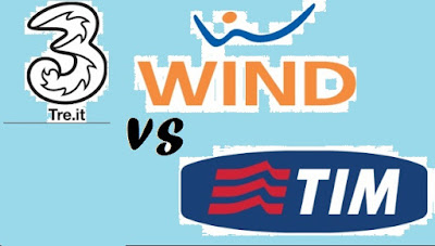 Migliori offerte telefoniche TIM vs Wind Tre