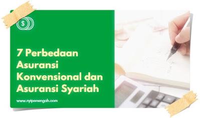 Bagi sebagian orang perbedaan asuransi konvensional dan asuransi syariah tidaklah begitu jelas. Berikut pembahasan lengkapnya perbedaan asuransi konvensional dan asuransi syariah.